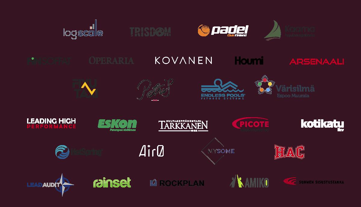 Yrityksiä, joille Valolink on rakentanut verkkosivut
